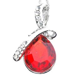 DDKK Hot New Sale! 'Love Heart' Women Necklace Pendant with Swarovski Crystals, Gift ...