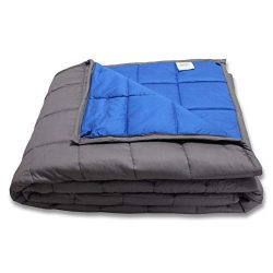 CMFRT Weighted Blanket-|Fits Queen-Sized Beds|Get Quality Rest|Great for Anxiety Relief|-(60inch ...