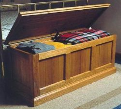 A Woodworking Plan and Instructions to Build a Heirloom Oak and Cedar Chest