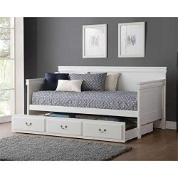 Acme Bailee Twin Daybed Trundle in White