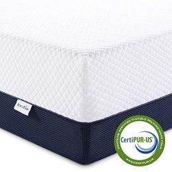 Inofia Twin Mattress, Ventilated Cool Gel Infused Memory Foam Mattress with Breathable Cover, Co ...