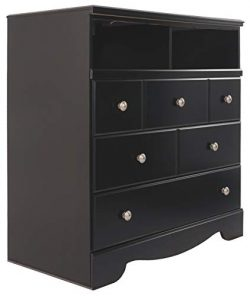 Ashley Furniture Signature Design – Shay Media Chest – 3 Drawers and 2 Cubbies ̵ ...