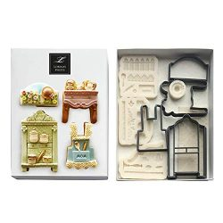 Lorena's Sweets Fondant Cookie kit Kitchen Assortment