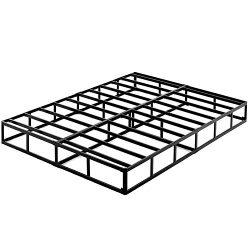 ZIYOO 9 Inch High Profile Box Spring/Easy Assembly Mattress Foundation/Heavy Duty Metal Steel Sl ...