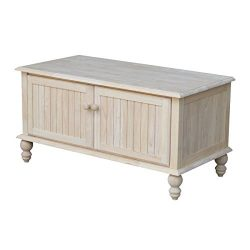 International Concepts Cottage Unfinished Blanket Chest