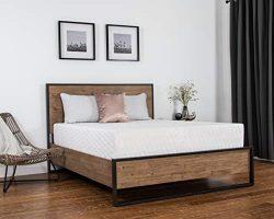 Dreamfoam Bedding Chill 14″ Gel Memory Foam Mattress, Queen- Made in The USA