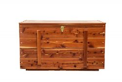 Extra Large Amish Handcrafted Real Wood Cedar Hope Blanket Chest