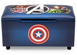 Marvel Avengers Upholstered Storage Bench for Kids | Perfect for Bedrooms/Playrooms/Living Rooms ...