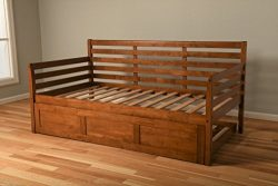 Kodiak Furniture Boho Daybed with Trundle, Twin, Barbados