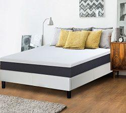 PrimaSleep Modern 10 Inch Air Flow Gel Memory Foam Comfort Bed Mattress King