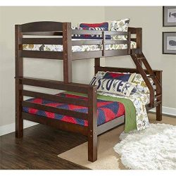 Powell D1046Y16 Bunk Bed, Twin/Full, Espresso