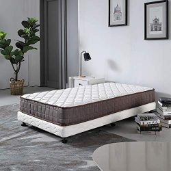 Le Confort 8 Inch Full Size Mattress Hybrid Spring Bedroom Furniture Bed Mattress in a Box