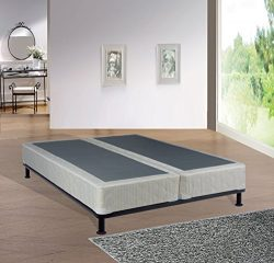 Mattress Solution, 100y-4/6-3s 8-inch Fully Assembled Split Box Spring/Foundation for Mattress,  ...