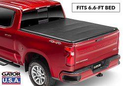 Gator ETX Soft Tri-Fold Truck Bed Tonneau Cover | 59116 | 2019 Chevy/GMC Silverado/Sierra 1500 ( ...