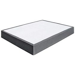 TATAGO 3000lbs Max Weight Capacity 9 Inch Heavy Duty Metal Box Spring Mattress Foundation, Extra ...