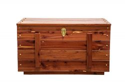 Amish Handmade Real Wood Cedar Hope Blanket Chest