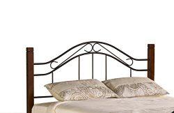Hillsdale Furniture 1159HK Matson Headboard, King, Cherry/Black