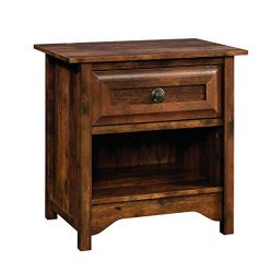 Sauder 420936 Viabella Night Stand Table, L: 26.14″ x W: 18.11″ x H: 25.75″, C ...