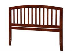 Atlantic Furniture AR288854 Richmond Headboard, King, Walnut