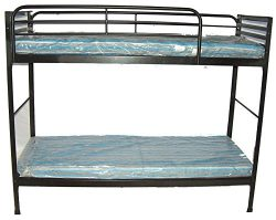 Blantex Heavy Duty 30″ Wide Institutional Bunk Bed with 4″ Foam Mats