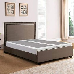 Spring Solution Queen  Size Fully Assembled Split Box Spring for Mattress, Hollywood Collection