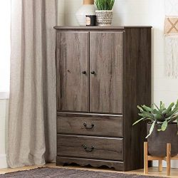 South Shore 11920 Prairie Armoire, Fall Oak
