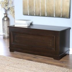 Surveyor Cedar Chest – Espresso
