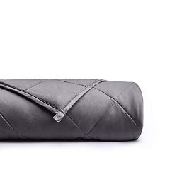 "YnM Weighted Blanket (15 lbs, 48""x72"", Twin Size) 