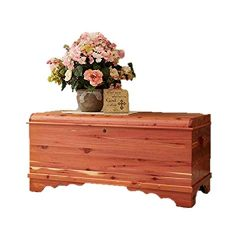 JMX Brands Inc Amish Made Large Waterfall Cedar Hope Chest