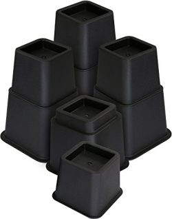 Utopia Bedding Adjustable Bed Furniture Risers – 3, 5 or 8 Inch Heavy Duty Risers For Sofa ...