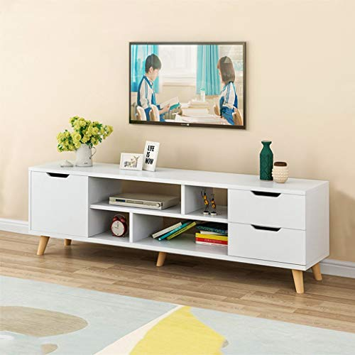 Sodoop TV Cabinet, Modern Wood Multipurpose Organizer Coffee Table Television Stands TV Stand fo ...
