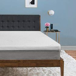 Tempur-Pedic TEMPUR-ProForm Supreme 3-Inch Queen Mattress Topper, Medium Firm Luxury Premium Foa ...