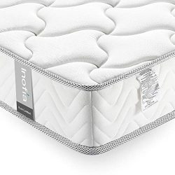 Queen Mattress 10 Inch, Inofia Comfort Supportive Anti-Sagging Memory Foam Mattress in a Box, Me ...