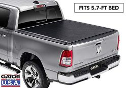Gator ETX Soft Roll Up Truck Bed Tonneau Cover | 1385954 | fits 2019 Dodge Ram 1500 (New Body St ...