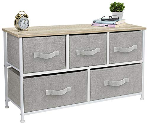 Sorbus Dresser with Drawers – Furniture Storage Tower Unit for Bedroom, Hallway, Closet, O ...