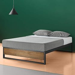 Zinus Suzanne 14 Inch Platform Bed without Headboard, Queen