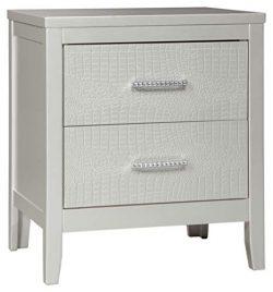 Ashley Furniture Signature Design – Olivet Nightstand – Contemporary Glam – 2  ...