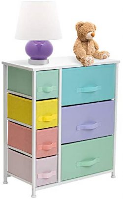 Sorbus Dresser with 7 Drawers – Furniture Storage Tower Chest for Kid's, Teens, Bedr ...
