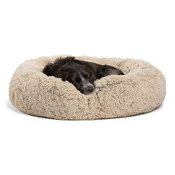 Best Friends by Sheri Calming Shag Vegan Fur Donut Cuddler (30×30, Zippered) – Medium ...