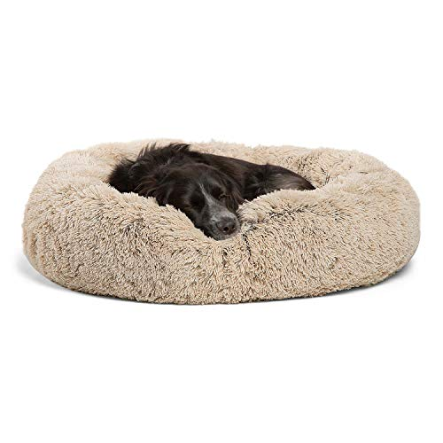 Best Friends by Sheri Calming Shag Vegan Fur Donut Cuddler (30×30, Zippered) – Medium ...
