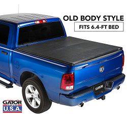 Gator ETX Soft Tri-Fold Truck Bed Tonneau Cover | 59202 | fits Dodge Ram 2009-18, 2019 Classic 1 ...