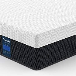 Full Mattress Hybrid 10 inch, Coolvie Innerspring Mattress in a Box, Motion Isolation Pocket Coi ...