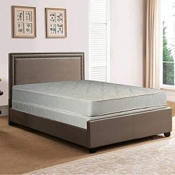 Spring Solution Mattress, 9-Inch Fully Assembled Orthopedic Back Support Queen Mattress and Box  ...