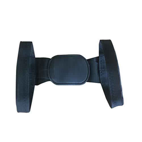LIUguoo SalePosture Corrector Device Comfortable Back Support Braces Shoulders Chest Belt Black