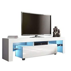 Shan-s TV Cabinet, Modern Wood Minimalist Multipurpose Organizer Coffee Table Television Stands  ...
