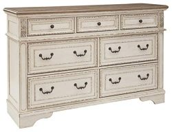 Signature Design by Ashley B743-31 Realyn Dresser Chipped White