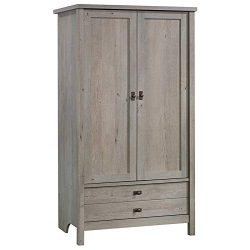 Sauder Cottage Road Storage Armoire, Mystic Oak