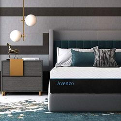 Queen Memory Foam Mattress, Avenco 10 Inch Queen Size Mattress in a Box, Premium Bed Mattress Qu ...