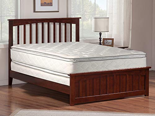 Mayton 12″ Full Size Mattress And Box Spring – Innerspring Double Sided Pillow Top M ...