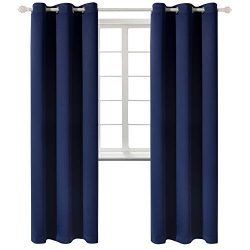 BGment Blackout Curtains for Living Room – Grommet Thermal Insulated Room Darkening Energy ...